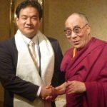 善光寺でチベット侵略の犠牲者追悼法要